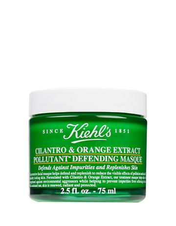 Kiehl's Since Cilantro And Orange Extract Pollutant Defending Masque, 2.5 Oz.
