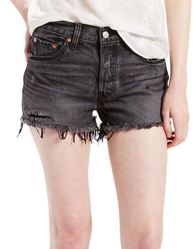 Levi's Distressed Washed Shorts