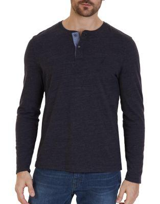 Nautica Classic Fit Long Sleeve Henley