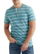 Lucky Brand Striped Cotton Blend Henley