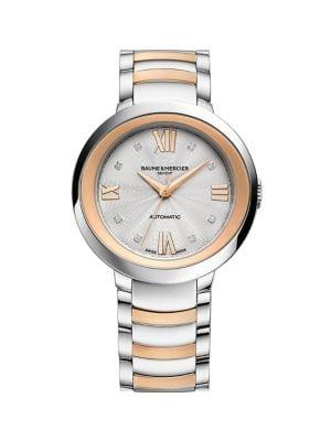Baume & Mercier Promesse Two-tone Stainless Steel Watch