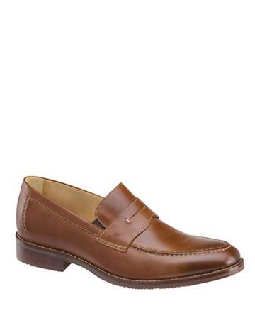 Johnston & Murphy Leather Moc-toe Penny Loafers