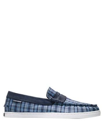 Cole Haan Pinch Weekender Plaid Penny Loafers