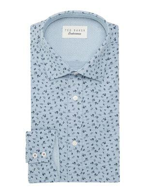 Ted Baker London Endurance Floral Oxford Dress Shirt
