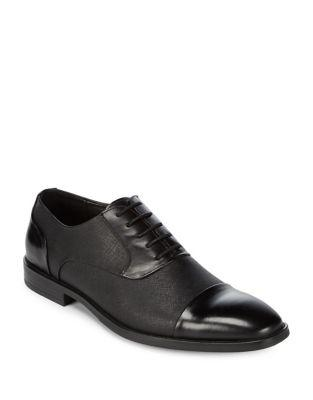 Kenneth Cole New York Linear Leather Oxfords
