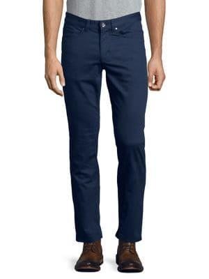 Black Brown Classic Twill Jeans