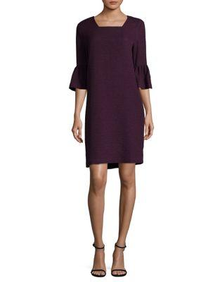 Calvin Klein Shift Square Neck Dress