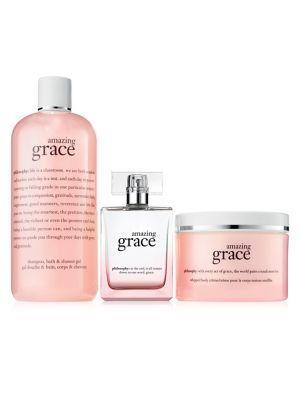 Philosophy Amazing Grace Eau De Parfum Three-piece Mothers Day Set