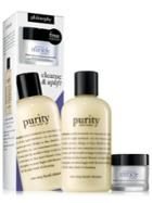 Philosophy Purity Facial Cleanser And Uplifting Miracle Worker Moisturizer