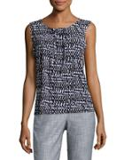 Nipon Boutique Printed Sleeveless Top