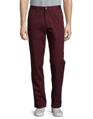Nautica Classic Cotton Straight-leg Pants
