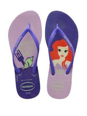 Havaianas Ariel Princess Rubber Flip Flops