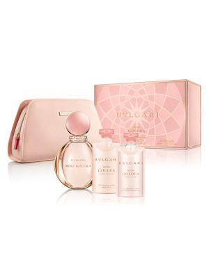 Bvlgari Rose Goldea Bath And Body Set