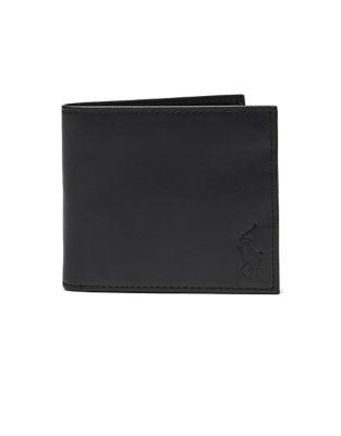 Polo Ralph Lauren Smooth Leather Bi-fold Wallet