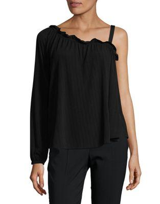 Ivanka Trump One Shoulder Blouse