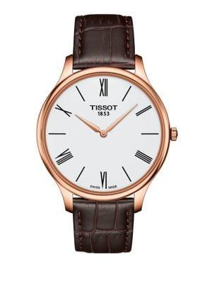 Tissot T-classic Leather-strap Watch