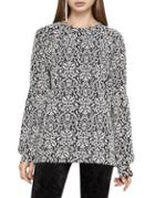 Bcbgeneration Damask Roundneck Top