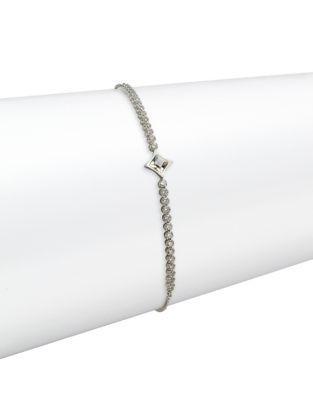 Swarovski Subtle Star Crystal Charm Bracelet