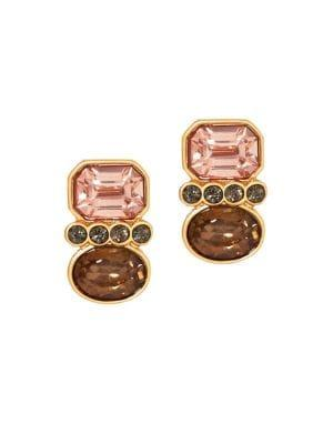 Vince Camuto Orient Express Crystal Stud Earrings