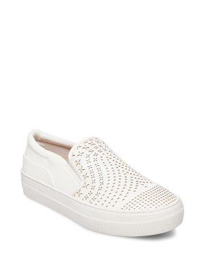 Design Lab Lord & Taylor Gavin Perforated Sneakers