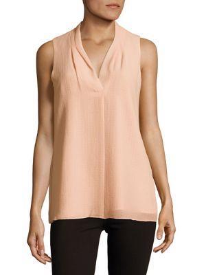 Calvin Klein Crinkled Sleeveless Top