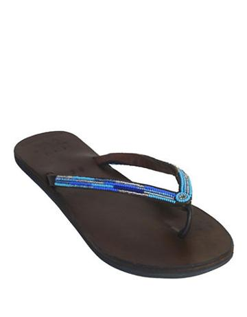 Global Girls Beaded Flip Flops
