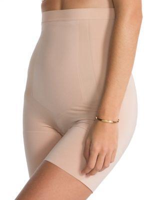 Spanx Oncore High-waist Mid-thigh Shorts