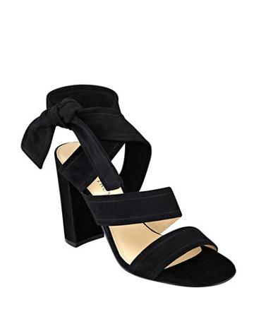 Ivanka Trump Kiffie Suede Sandal High-heels