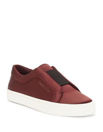 Louise Et Cie Lo-bette Leather Slip-on Sneakers