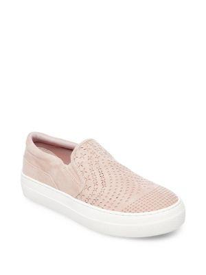 Design Lab Lord & Taylor Gavin Perforated Slip-on Sneakers