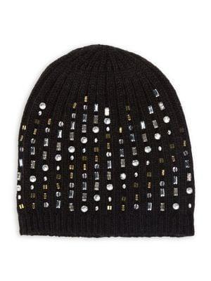 Lord & Taylor Bedazzled Beanie
