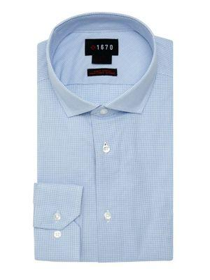 Lord Taylor Slim-fit Checkered Shirt