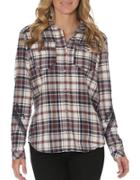 Driftwood Plaid Cotton Shirt