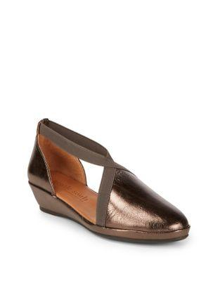 Gentle Souls Natalia Leather Demi-wedge