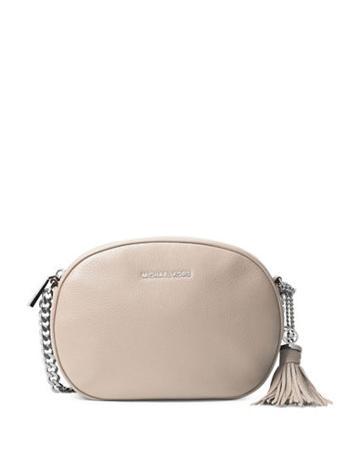 Michael Michael Kors Medium Leather Messenger Bag