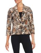 Nipon Boutique Palm Print Jacket