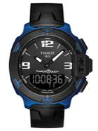 Tissot Mens T Race Touch Black And Blue Watch