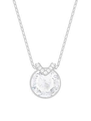 Bella Swarovski Crystal V Pendant Necklace