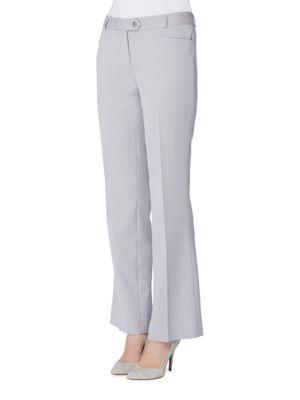 Tahari Arthur S. Levine Plus Classic-fit Solid Pants