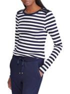 Lauren Ralph Lauren Striped Long-sleeve Top