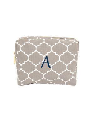 Cathy's Concepts Moroccan Lattice Cosmetic Bag