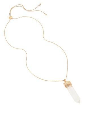 H Halston Recolors Crystal Pendant Necklace