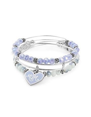 Alex And Ani Expandable Mom Charm Bracelet