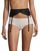 Betsey Johnson Lace Garter Belt