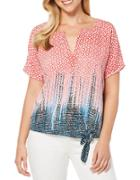 Rafaella Petites Abstract Patterned Blouse