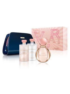 Bvlgari 4-piece Rose Goldea Eau De Parfum Pouch Set - $194 Value