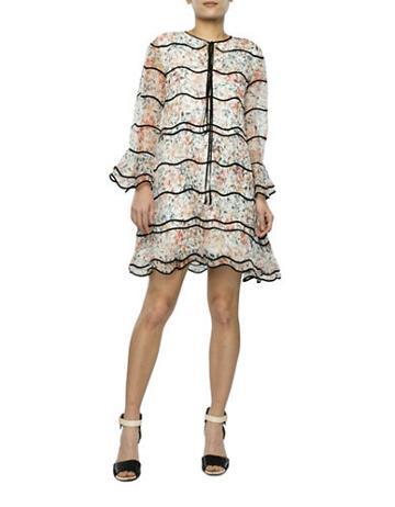 Sachin & Babi Floral Silk Dress