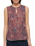 Tommy Hilfiger Printed Sleeveless Top