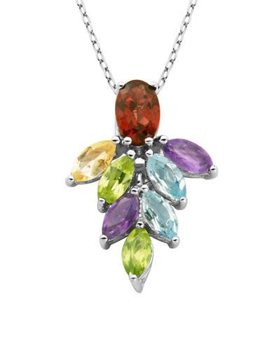 Lord & Taylor Marquise-cut Multi-stone Pendant Necklace