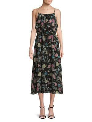 Kensie Dresses Floral Midi Dress